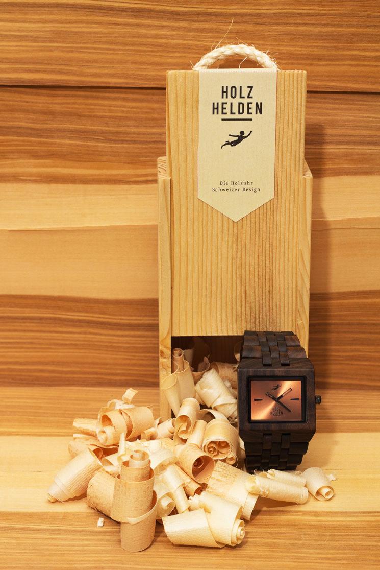 Holzhelden Verpackung