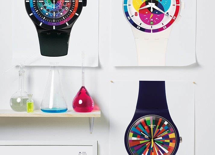 Swatch A World in Colors AD